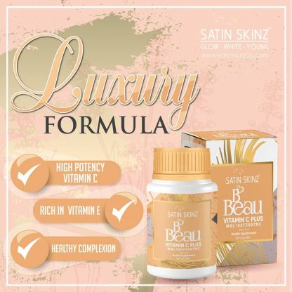 satin skinz bbeau vitamin c healthy complexion